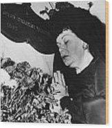 Rudolph Valentino Wood Print