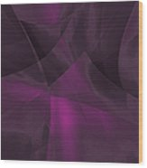 Transparent Layers Wood Print