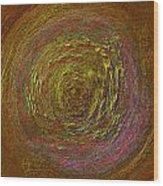Sand Color Wood Print