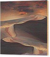2339 Wood Print