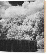 Boundaries Wood Print