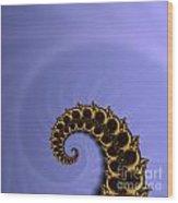 Fractal Wood Print by Odon Czintos