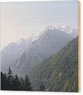 Splendors Of Himalayas Wood Print