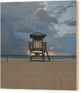 26- Storm Front Wood Print