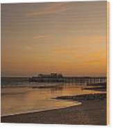 Hastings Pier Wood Print