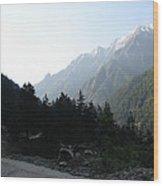 Splendors Of Himalayas Wood Print