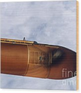 Space Shuttle Discovery Wood Print