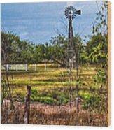 281 Family Farm Wood Print