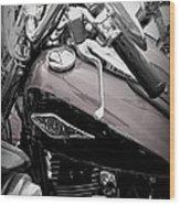 3 - Harley Davidson Series Wood Print