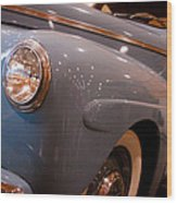 1942 Ford Deluxe 2-door Club Coupe Wood Print