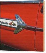 1960 Chevy Impala Convertable Wood Print