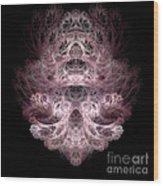 Abstract 192 Wood Print