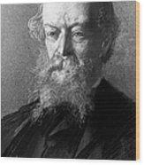 Algernon C. Swinburne Wood Print