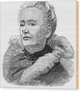 Amelia A. B. Edwards Wood Print