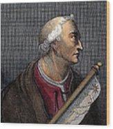 Amerigo Vespucci (1454-1512) Wood Print
