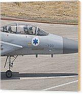 An F-15d Eagle Baz Aircraft Wood Print