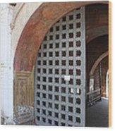 Ancient Gate Wood Print