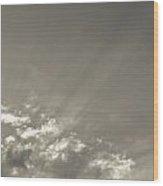 Angel Light Wood Print