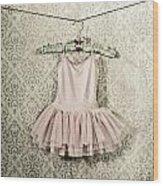 Ballet Dress Wood Print by Joana Kruse