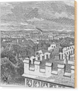Baton Rouge, 1862 Wood Print