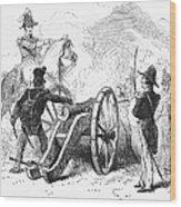 Battle Of Buena Vista Wood Print
