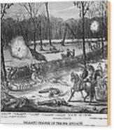 Battle Of Shiloh, 1862 Wood Print