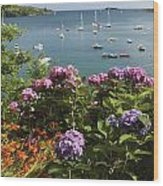 Bay Beside Glandore Village In West Wood Print
