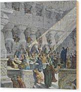 Belshazzars Feast Wood Print