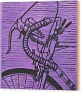 Bike 2 Wood Print by William Cauthern