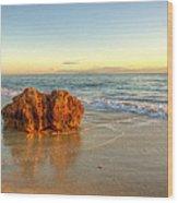 Brighton Beach Wa Wood Print