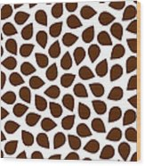Brown Abstract Wood Print