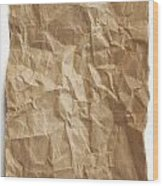 Brown Paper Wood Print by Blink Images