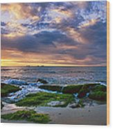 Burns Beach Wood Print
