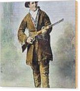 Calamity Jane (c1852-1903) Wood Print