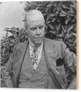 Carl Van Vechten (1880-1964) Wood Print