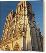 Cathedral Notre Dame Wood Print