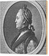 Catherine II (1729-1796) Wood Print