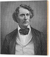 Charles Sumner (1811-1874) Wood Print by Granger