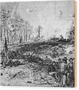 Civil War: Spotsylvania Wood Print