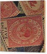 Closeup Of Classic British Empire Wood Print
