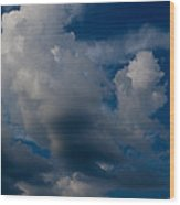 Clouds - Nubes Wood Print