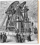 Corliss Steam Engine, 1876 Wood Print
