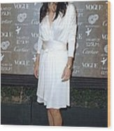 Courteney Cox Arquette At Arrivals Wood Print by Everett