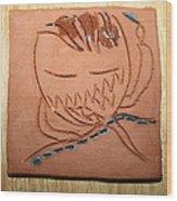 Crazy Pineapple Wood Print
