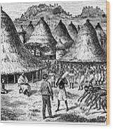 David Livingstone (1813-1873) Wood Print