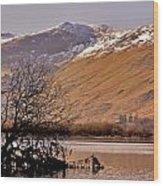 Derwent Water - Lake District. Wood Print