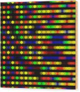 Dna Microarray Wood Print