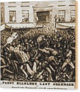 Fanny Elssler 1810-1884, Austrian Wood Print by Everett
