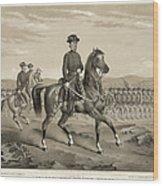 Franz Sigel (1824-1902) Wood Print