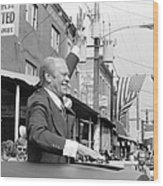 Gerald Ford (1913-2006) Wood Print